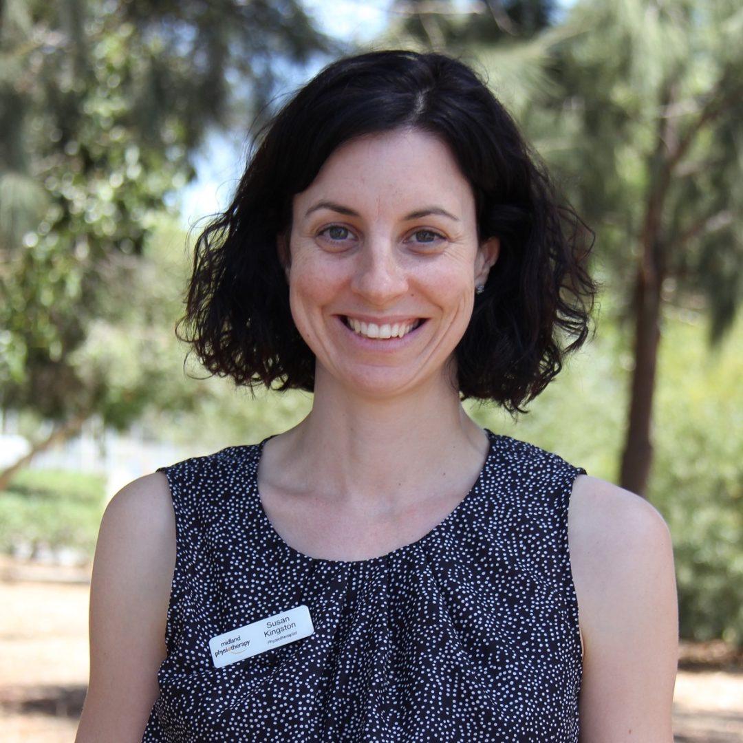 Midland Physiotherapist Susan Kingston